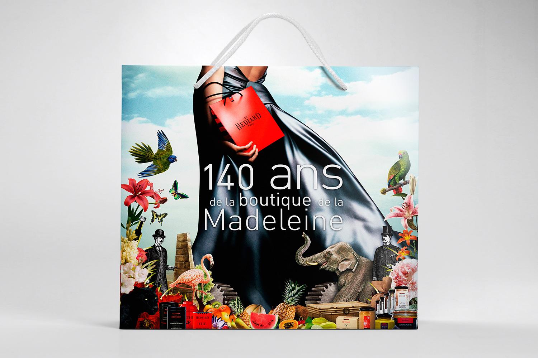 Hediard 140 ans Madeleine